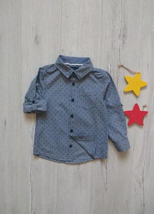 2-3 года, рубашка rebel.