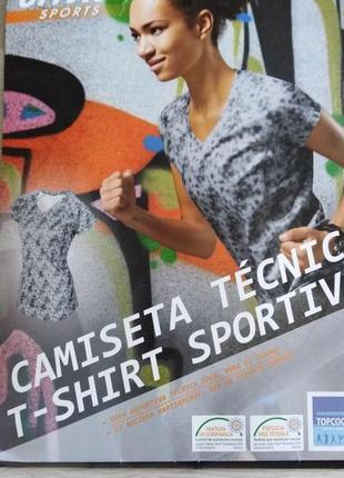 Функциональная женская футболка для фитнеса, бега или йоги р. 36 38 s crivit германия