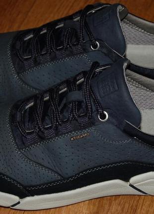 Кожаные кроссовки 42-43 р geox хорошее состояние1 фото