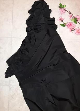 1+1=3 нарядное черное коктейльное короткое платье redhering, размер 44 - 464 фото