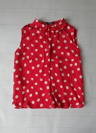 Укороченный топ,блуза mango