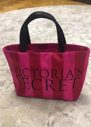 56d1b84dbc5f Сумка пляжная маленькая victoria's secret сумочка шоппер косметичка