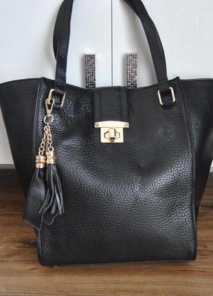 95e4351dc42b Кожаные сумки шопперы 2019 - купить недорого вещи в интернет ...