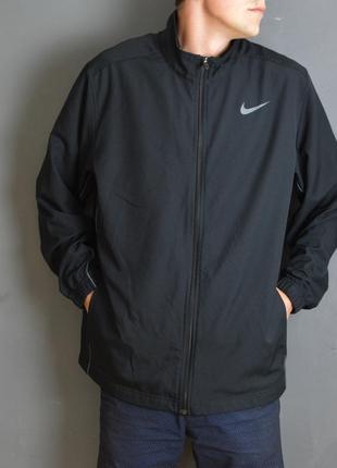 Олимпийка nike dri-fit running jacket
