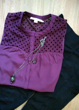 Бордовая рубашка 💜💜💜