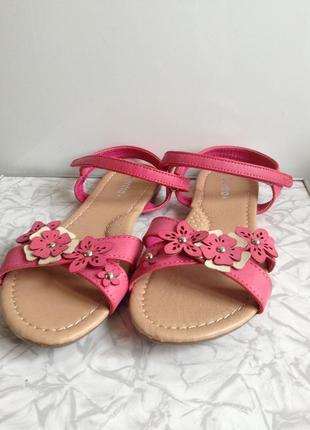 Пудровые розовые босоножки в стиле zara на липучках 36