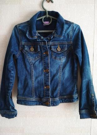 Джинсовая куртка f&f, джинсовка, джинсова курточка, джинсовий піджак