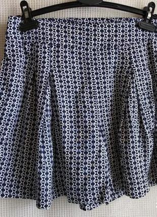 Лёгкие юбка -шорты в складку от fat face (m)
