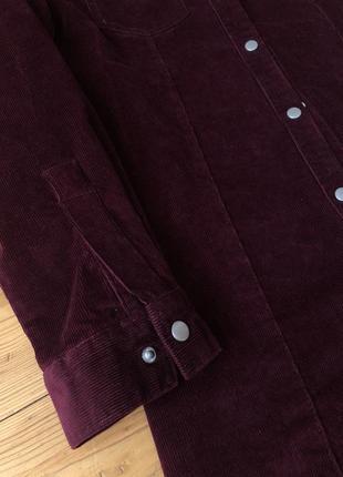 Шикарне вельветове плаття рубашка4 фото