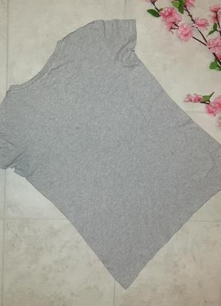 1+1=3 фирменная серая футболка h&m, размер 44 - 462 фото