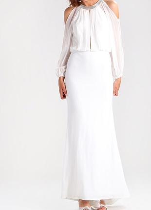 Вечернее свадебное платье mascara 38p