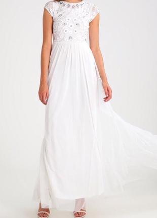 Вечернее свадебное платье frock&frill 10p