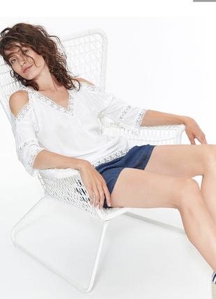 Летняя невесомая блуза