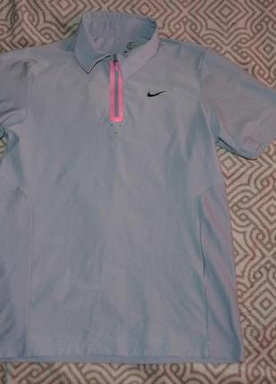 Термо футболка поло nike dri fit 13-14 лет рост 158-164