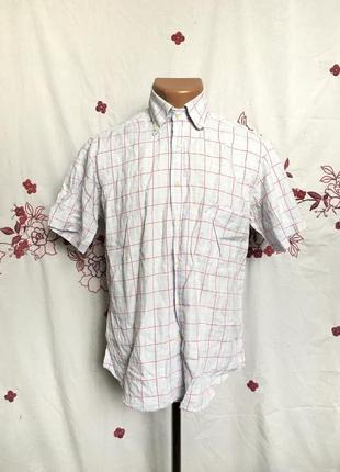 Оригинальная рубашка в клетку
