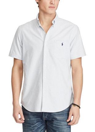 Оригинальная рубашка в полоску