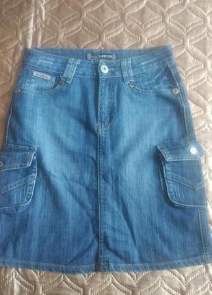 Распродажа -50% на все вещи !!!юбка джинсовая  yarrter (27р) наш 44- 46р
