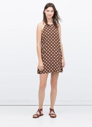 Актуальное платье сарафан полька дот в горошек
