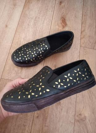 Туфли лоферы 37 размер балетки