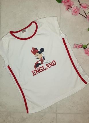 1+1=3 модная футболка с микки маусом marks&spencer на девочку 10 лет