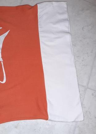 Стильная оранжевая футболка mosaic, размер 44 - 467 фото