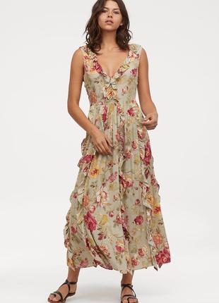 2019 новая коллекция 2 цвета платье с оборками вискоза
