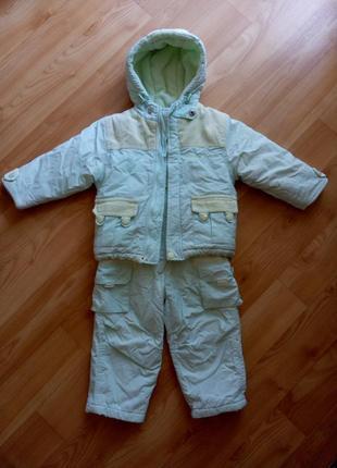 Зимний костюм,комбинезон coccobello