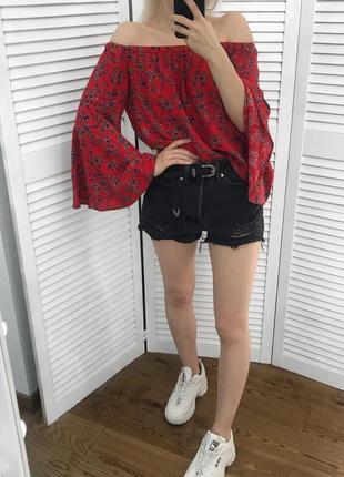 Summer sale! ексклюзивна блузка з широким рукавом