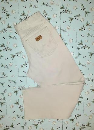 Акция 1+1=3 фирменные светлые прямые джинсы wrangler оригинал, размер 46 - 48