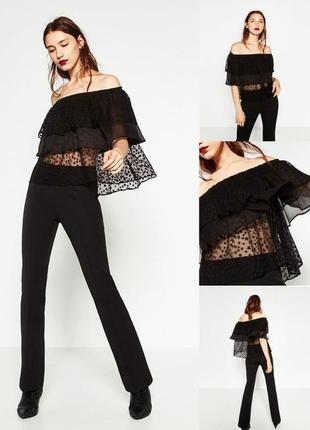 Шикарная воздушная блуза от zara