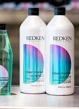 Redken шампунь глубокой очистки редкен clean maniac hair cleansing cream (сша)