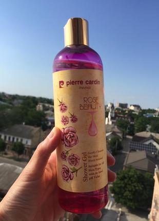 Pierre cardin shower gel 400 ml - rose beauty гель для душа5 фото