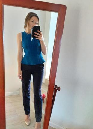 Идеальные синие брюки