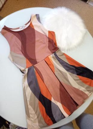 Платье женское летнее new look красивое размер s цветное коралловое короткое недорогое
