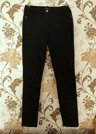 Yest черные джинсы, брюки