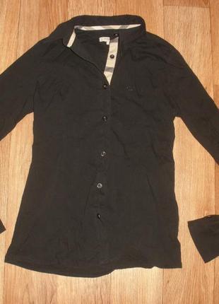 Рубашка хлопковая burberry /размер s