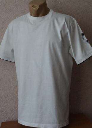Германия! стильная, белая футболка  в идеале, l-xl