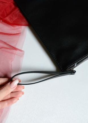 Pull&bear сумка клатч з вишивкою7 фото