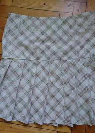 Летний хлопковый легкий костюм-тройка_юбка топ пиджак4 фото