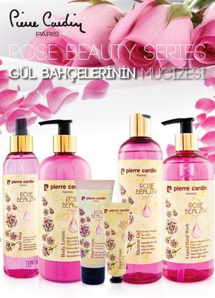 Pierre cardin shower gel 400 ml - rose beauty гель для душа4 фото