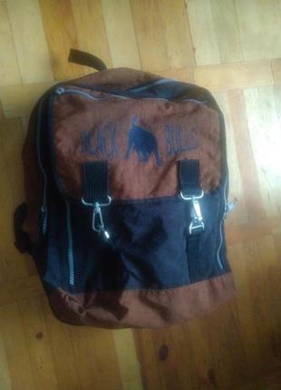 Оригінальний, зручний рюкзак black bulls