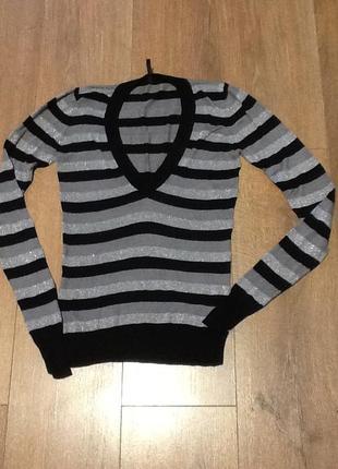 Шелковый свитерок naf naf