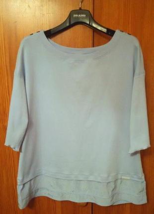 Аристократичная,нежная футболка,блуза marc cain sports,оригинал
