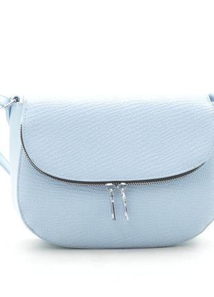 Новая женская голубая сумка клатч