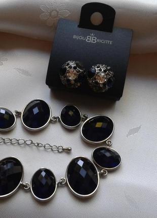Восхитительный набор бижутерии от bijou brigitte - браслет и серьги
