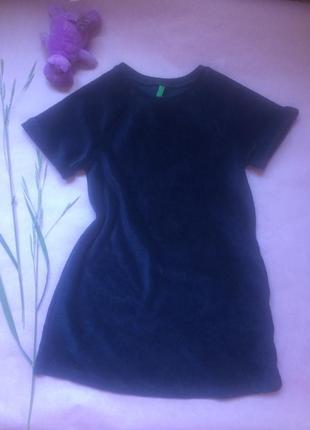 Бархатное платье цвета сапфира для принцессы 👸🏻