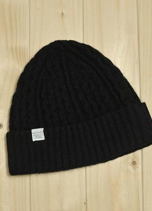 Шерстяна шапка norse projects cable knit beanie - one size