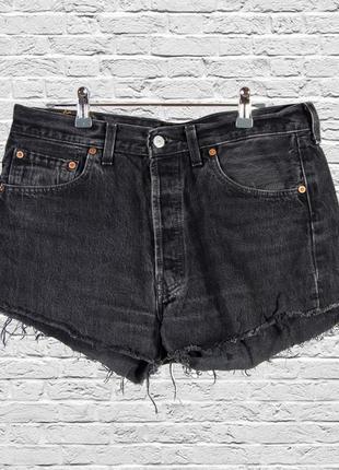 Джинсовые шорты черные, черные шорты рваные, короткие шорты летние
