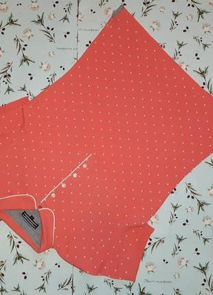 Акция 1+1=3 фирменная футболка поло в горошек tommy hilfiger оригинал, размер 44 - 46