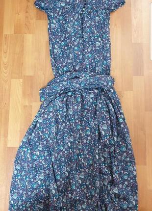 Легкое платье в пол